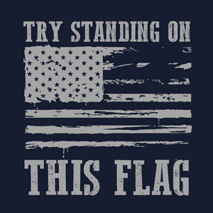 Try standing on this flag!