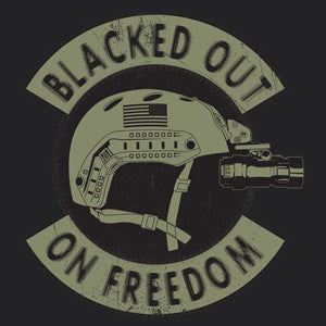 Blacked Out on Freedom