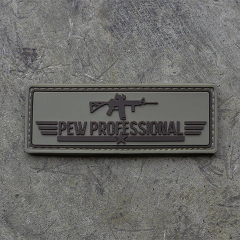 Pew Professional Patch (Tan)