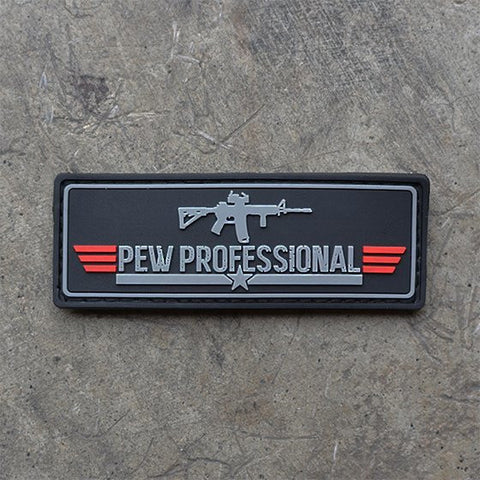 Pew Professional Patch (Black)