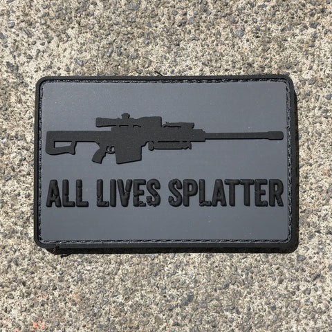 All Lives Splatter Patch