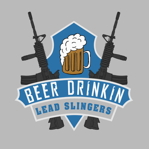Beer Drinking Lead Slinger - Color - FINAL CLOSEOUT -