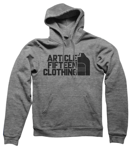 Article 15 Clothing Mountain Logo Hoodie
