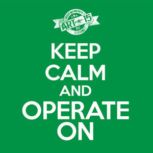 Keep Calm and Operate On