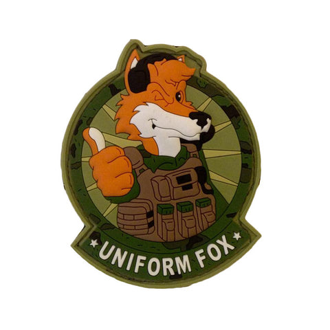 Uniform Fox Patch - FINAL CLOSEOUT -