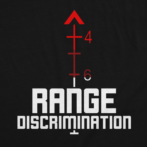 Range Discrimination Blackout Edition Tee