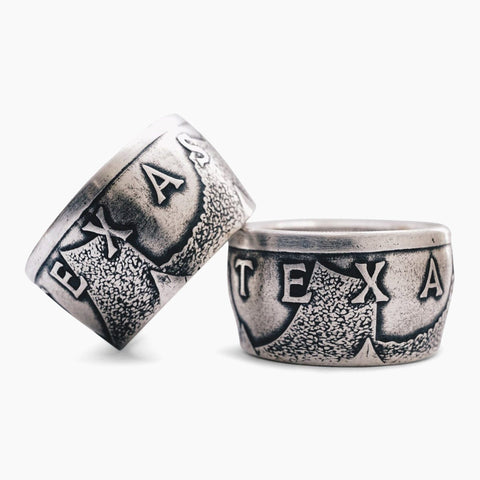 Lone Star Coin Ring