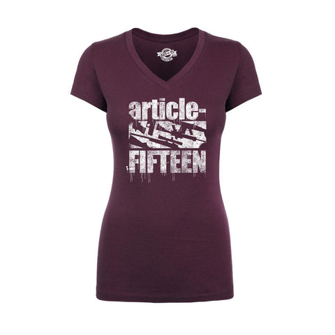 Women's Article 15 Drip Logo Tee