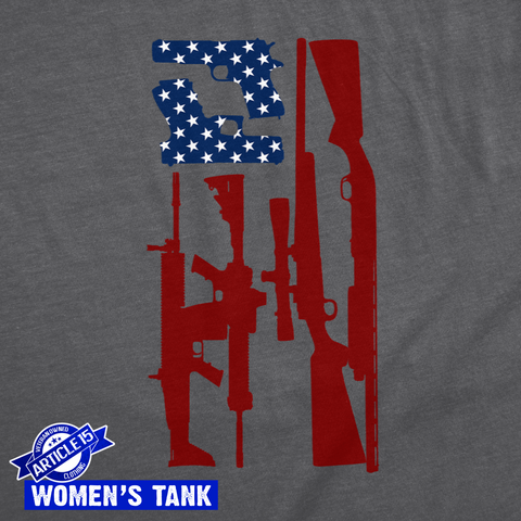 Women's Freedom Flag Tank