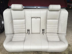 JAGUAR X300 XJ6 AGD Oatmeal Leather Rear Bench Seat 94-96