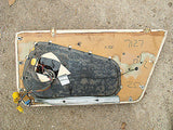 Jaguar XJ40 Daimler XJR Leather Door Card Magnolia Rear LH/NS