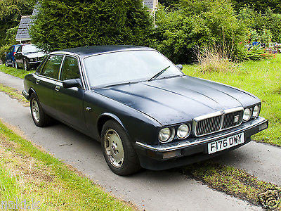 1989 jaguar xj40 xj6 3 6 manual black cherry jaguar. Black Bedroom Furniture Sets. Home Design Ideas