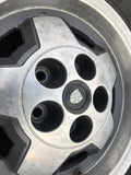 "JAGUAR 15"" XJS S3 Starfish Alloy wheels x4 15x6.5 5x120 PCD CAC4379 ET28.5 with tyres"