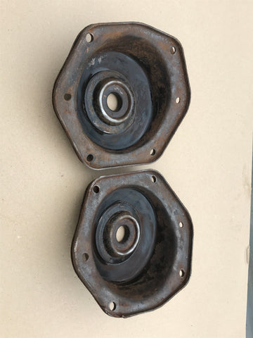 Jaguar X300 XJ40 rear shock mount tops plates