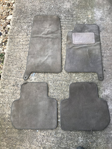 Jaguar X300 X308 over mat rug set Parchment green/ grey