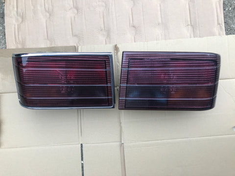 Jaguar XJ40 Red tail lamp set lamps