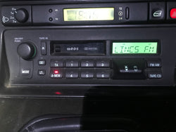 Daimler Jaguar XJ6 X300 94-97 Radio cassette player. AJ9500R DBC10425 Tested working with the security code.