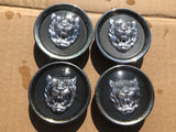 Jaguar X300 X308 XK8 XJ40 XJS Growler wheel badges x4.