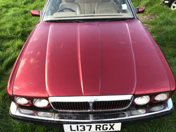 Jaguar Daimler XJ40 bonnet Flamenco Red CFH RUST FREE