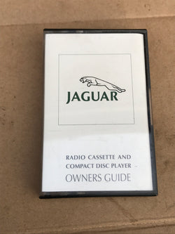Jaguar XJ40 Radio Cassette & CD Changer Guide Tape