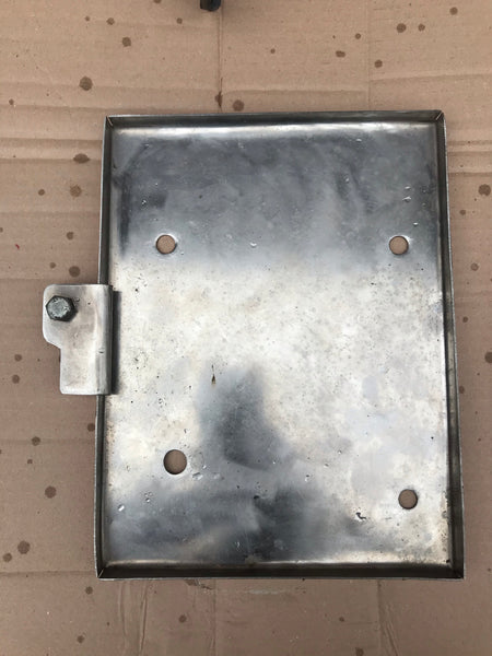 Jaguar Daimler XJ40 86-92 RHD Stainless steel Battery tray holder