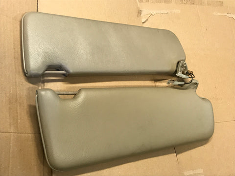 Daimler Jaguar XJ40 90-92 Leather Sun visors Doeskin AEE