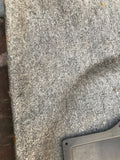 Jaguar XJ40 86-92 trunk boot carpet set Savill Grey.