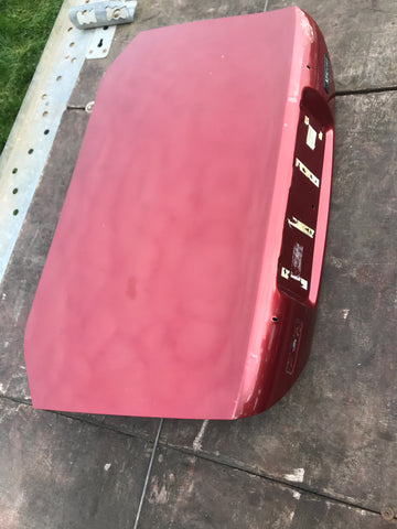 Jaguar X300 X308 Boot trunk lid SOLID CONDITION CFH Flamenco Red