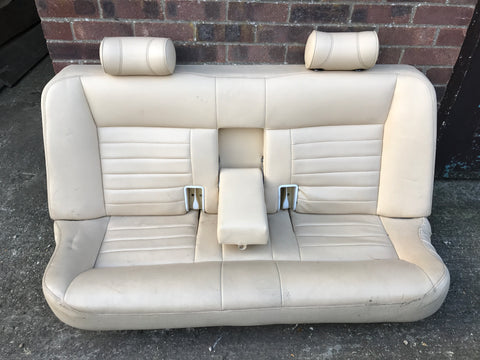 JAGUAR XJ40 3.2s/ 4.0s Sport AEM Magnolia Leather Rear seat 93-94 Van camper