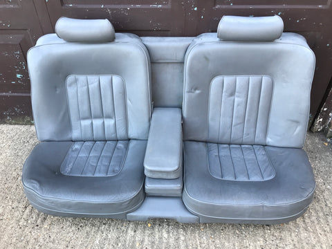 Jaguar XJ40 Savill Grey LDY Doeskin Rear seat
