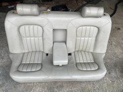 JAGUAR X308 XJ8 AGD Oatmeal Leather Rear back Bench Seat 97-2002