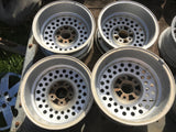 "JAGUAR XJS Series 3 S3 XJ12 XJ6 PepperPot Alloy Wheels With Tyres X 15"" 6Jx15 H2 ET33"