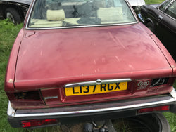 Daimler Jaguar XJ40 boot lid CFH Flamenco Red RUST FREE.