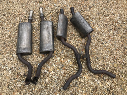 Jaguar XJ40 3.2 4.0 Exhaust sections X4 Genuine parts