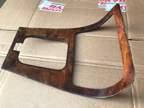 Jaguar XJ40 Walnut Ski slope centre console veneer