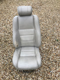 Jaguar X300 Right Driver Seat AGD OATMEAL