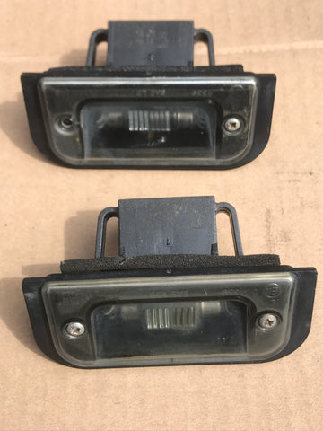 Daimler Jaguar X300 X308 number license plate lamps lights LNA5070AC