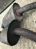 Jaguar X300 XJ6 Genuine Mid Over Axle Exhaust Boxes Sections. Left & Right