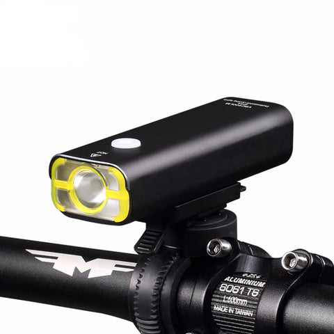USB Rechargeable Front Handlebar LED Light - Pedal Kingdom