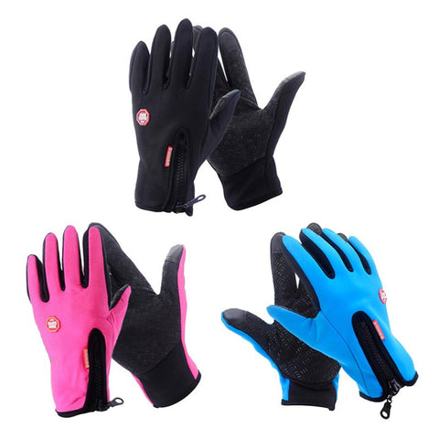 Windproof Waterproof & Touchscreen Winter Cycling Gloves - Pedal Kingdom