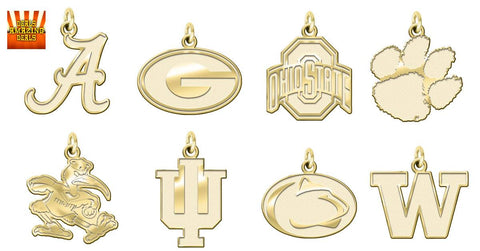 !4kt Gold Charms College Football Deals Amazing Deals