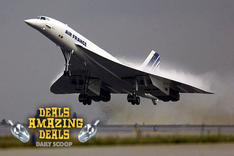 Daily Scoop Concorde takes off