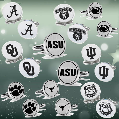 College Footbal Cufflinks Deals Amazing Deals