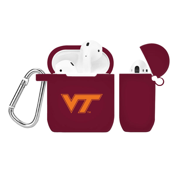 Virginia Tech Hokies Silicone Case Cover for Apple AirPod Case