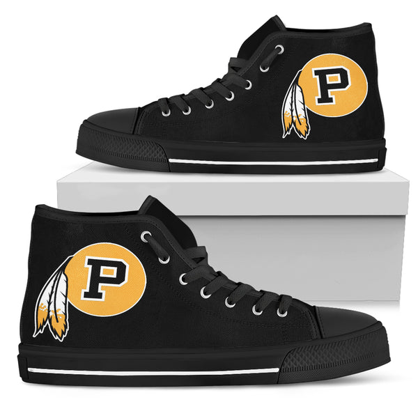 Pontotoc Warrior Black High Top Shoe