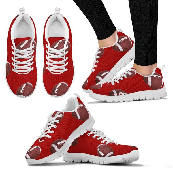 Women's Crimson Sneakers