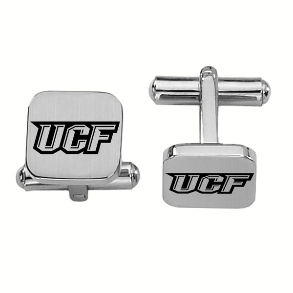 Central Florida Knights Stainless Steel Square Cufflinks - DealsAmazingDeals.com
