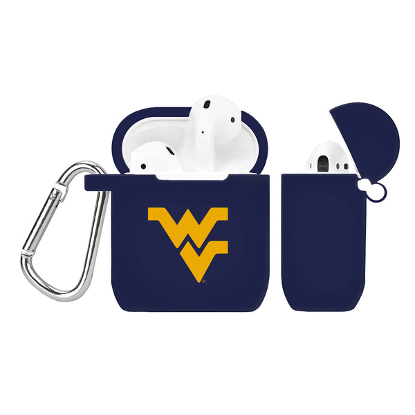 West Virginia Mountaineers Silicone Case Cover for Apple AirPod Case - DealsAmazingDeals.com