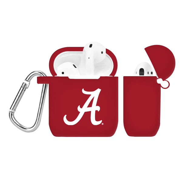 Alabama Crimson Tide Silicone AirPod Case - Crimson - DealsAmazingDeals.com