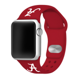 Alabama Crimson Tide Sport Band for Apple Watch - DealsAmazingDeals.com